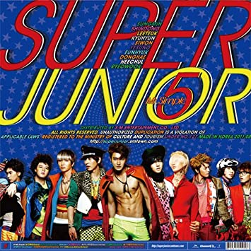 Kpop CD, Super Junior, Mr.Simple Type A the 5th album : Super ...
