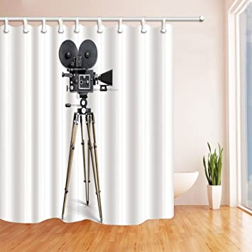 nyngei Equipment Decor Old School Film Kamera Polyester ...