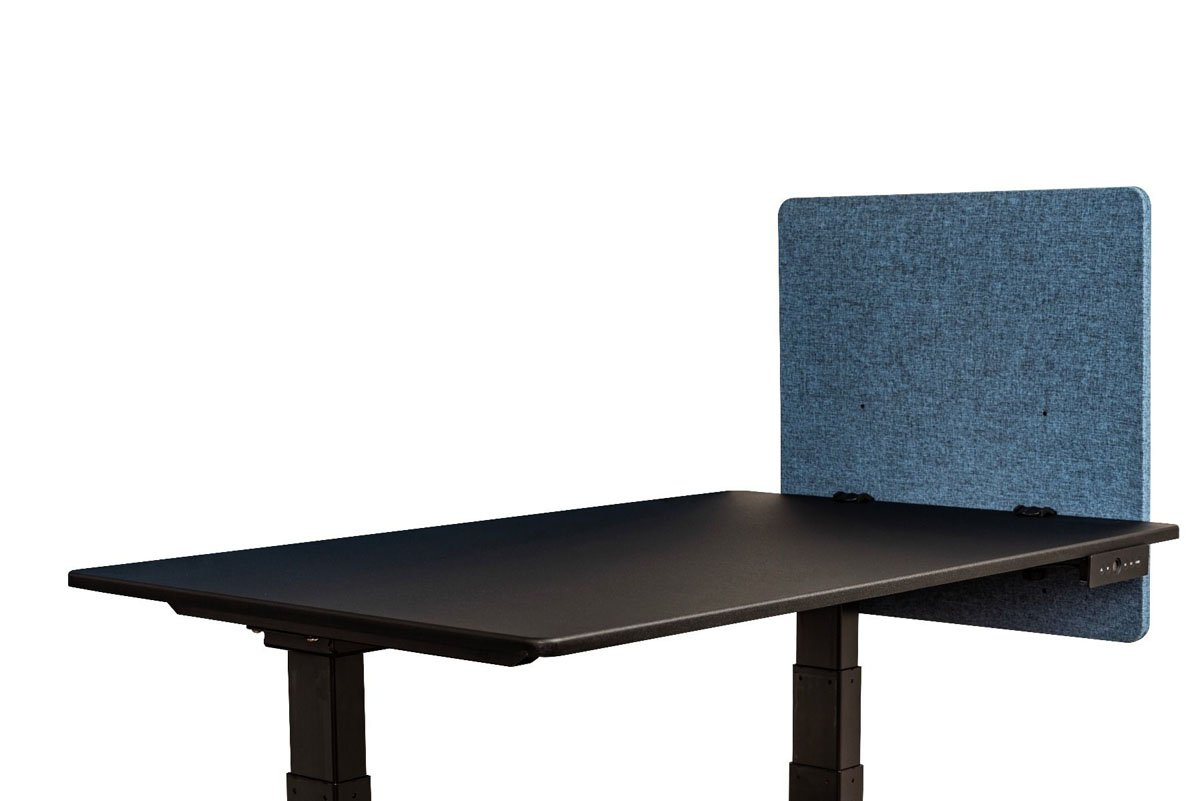 Offex Reclaim Desktop Workstation Privacy Panel in Pacific Blue - 24'' W X 24'' H