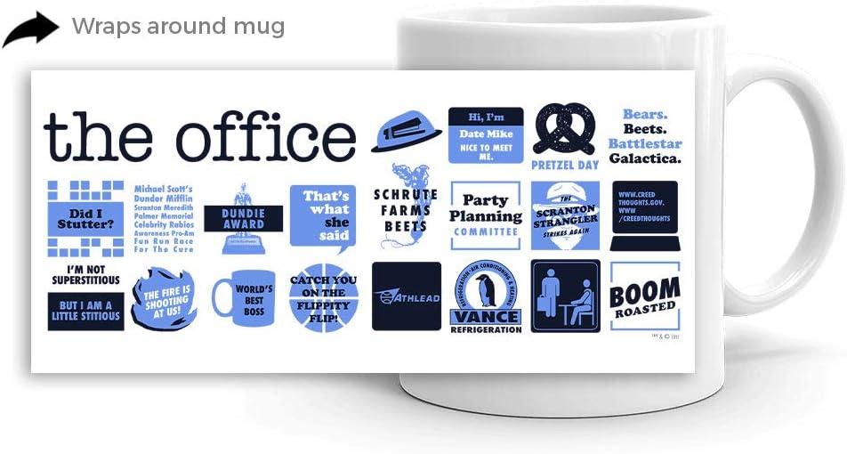The Office Quote Mash-Up White Mug - 11 oz. - Official Coffee Mug