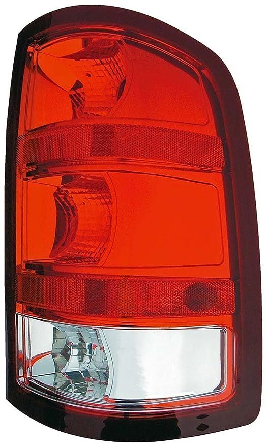 Taillight Taillamp Right Passenger Side for 07-13 Sierra Pickup Truck Fleetside