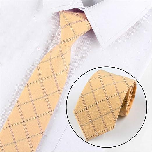 xqzs Ancho de Corbata de algodón 8cm Corbata Formal Formal de ...