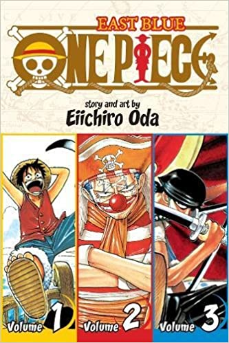 Amazon One Piece East Blue 1 2 3 9781421536255 Eiichiro Oda Books