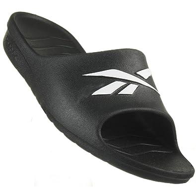c85db8a7d2617 Reebok Women s Thong Sandals Black Black  Amazon.co.uk  Shoes   Bags