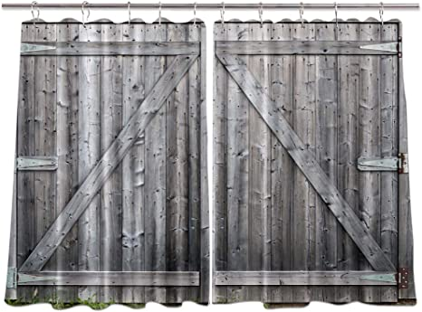 65 x 59 pouces #2 3d Printing Curtains Living Room Window Drapes 2 Panels set