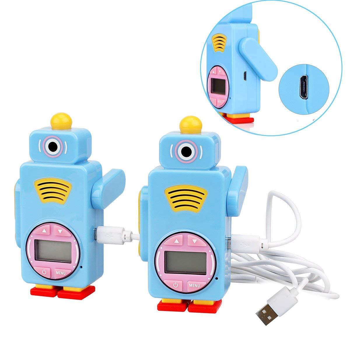 Retevis RT36 Kids Walkie Talkies Rechargeable Battery USB Charging Flashlight Long Range Crystal Sound License Free Walkie Talkies for Kids (Blue,2 Pack) by Retevis (Image #5)
