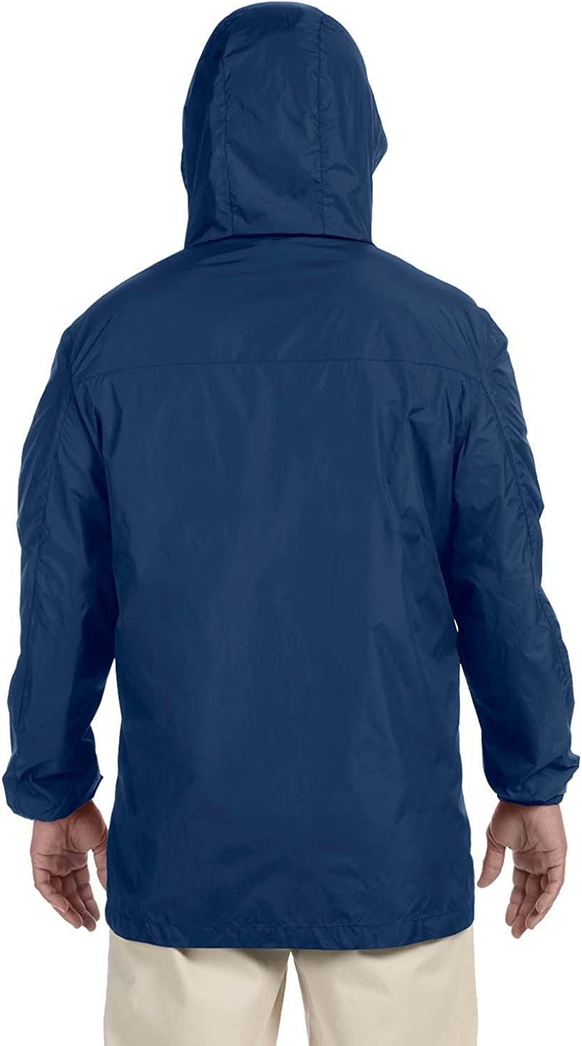 Harriton Mens Water-Resistant Essential Rainwear