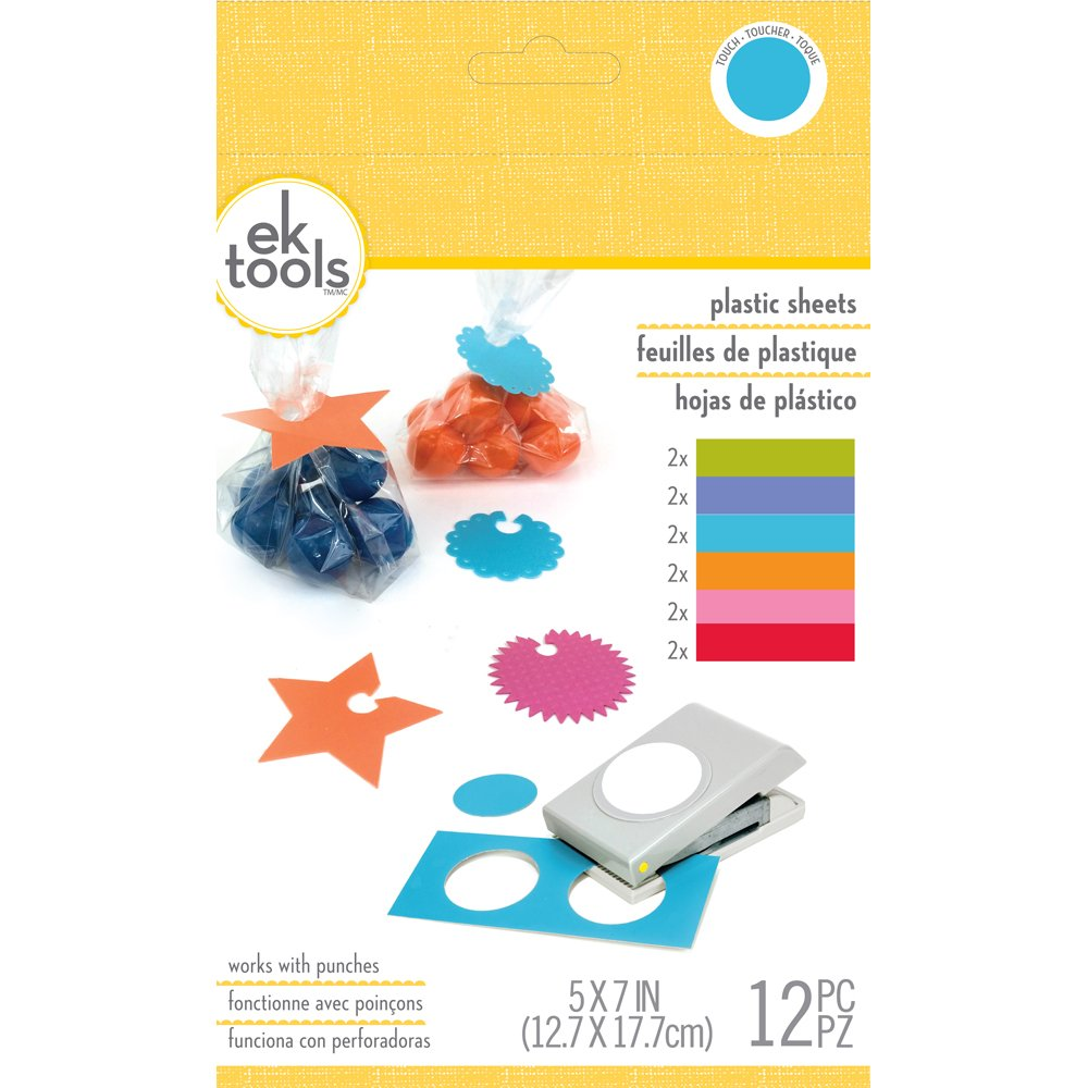 Ek Tools 55-59015 Láminas De Plástico Brillos