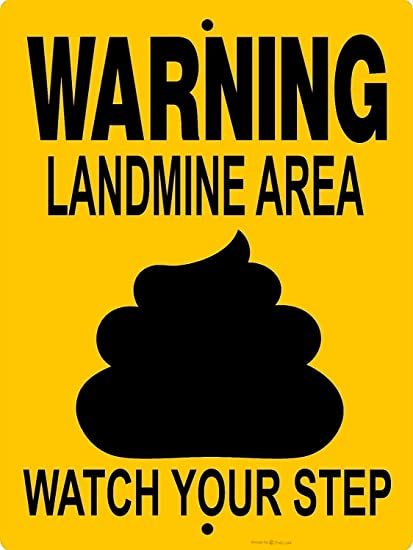 16x12 H Warning Notice Metal Vintage Iron Signs Road Forest Farm Poster Plaque Wall Art Bar Club Store Home Garage Signs Personalized Chic Funny Decor Warning Signs I Like Big Mutts Tin Sign