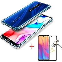 Capa Anti Impactos Anti-Quedas Xiaomi Redmi 8/8a + Película 5D Blindada Nano Flexível, 100% Cobertura