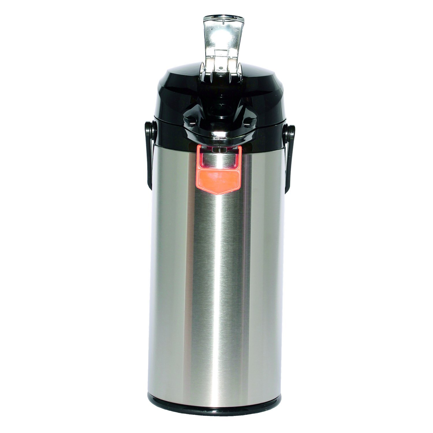Service Ideas ENALG22S Airpot with Lever, Glass Lined, NSF Listed, 2.2 L