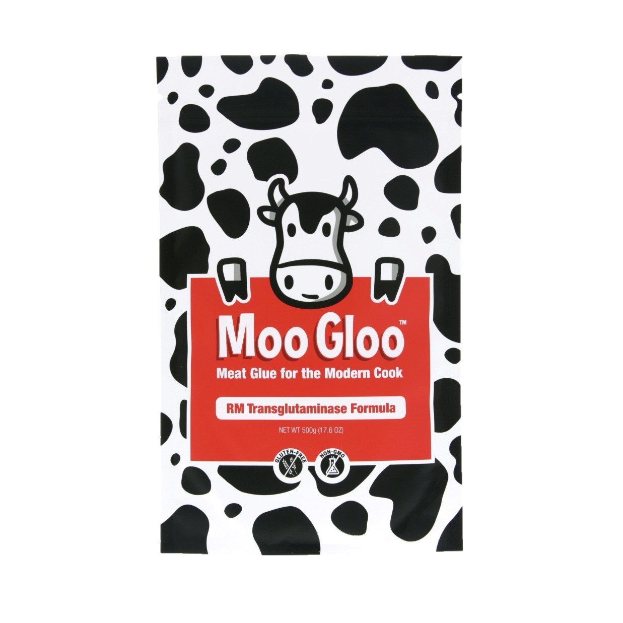 Transglutaminase (Meat Glue) - RM Formula, 500g/1.1lbs by Moo Gloo (Image #1)