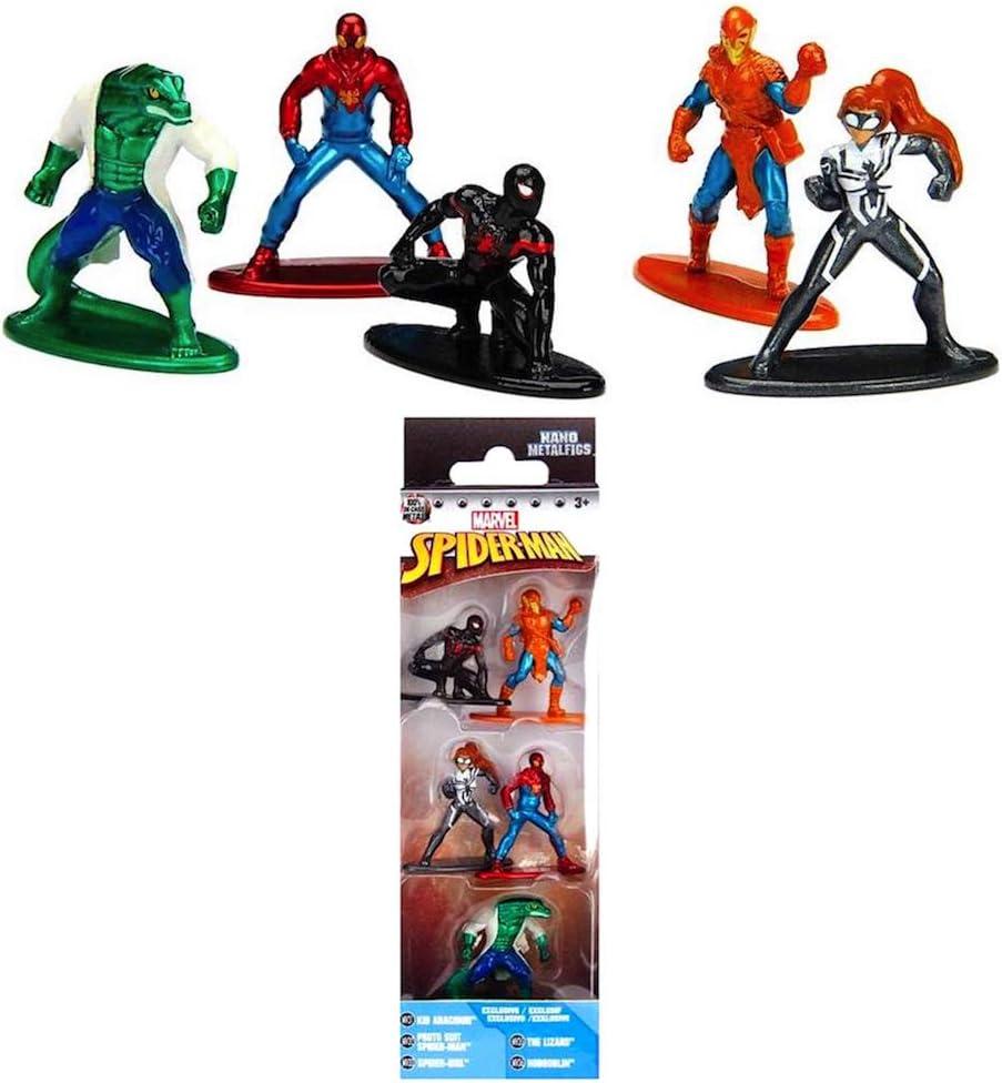 Spider-Man Marvel Nano metalfig Pack 5 A et B