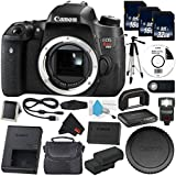 6Ave Canon EOS Rebel T6s DSLR Camera (Body Only) (0020C001) Deluxe Bundle - International Version (No Warranty)