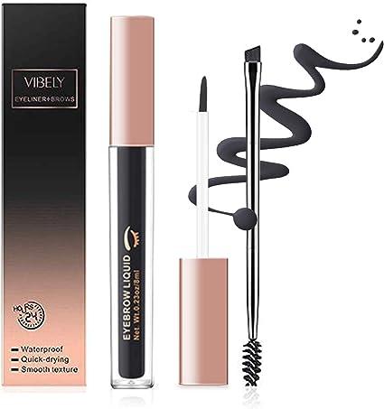 Onlyoily Gel de Cejas -Tintes para Cejas de Maquillaje Natural Colores de Cejas en Crema Geles Líquido para Cejas con Cepillos