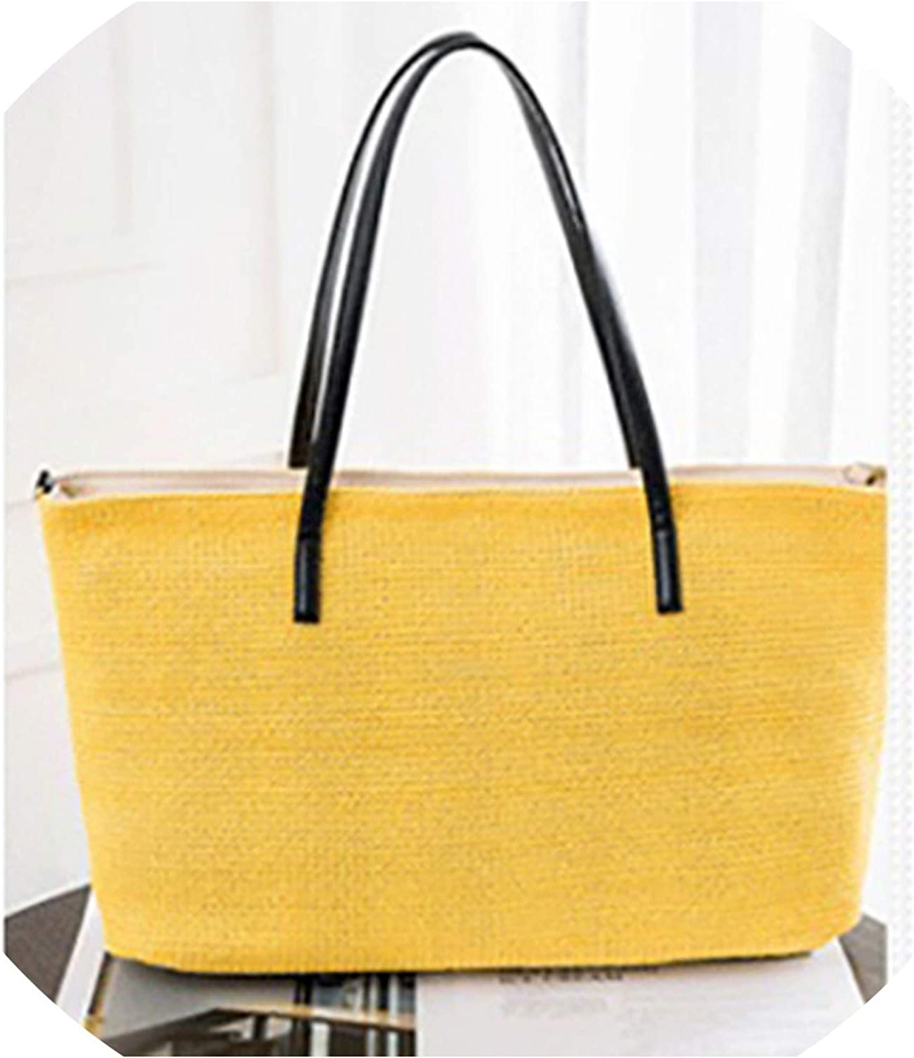 Hand-woven Shoulder Bag Lady holiday bag Travel Shopping Woven Beach Shoulder Bag Bohemia Handbag