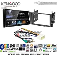 Volunteer Audio Kenwood DDX9904S Double Din Radio Install Kit with Apple CarPlay Android Auto Bluetooth Fits 2001-2003 Acura CL and 1999-2003 Acura TL (Factory Amplified)