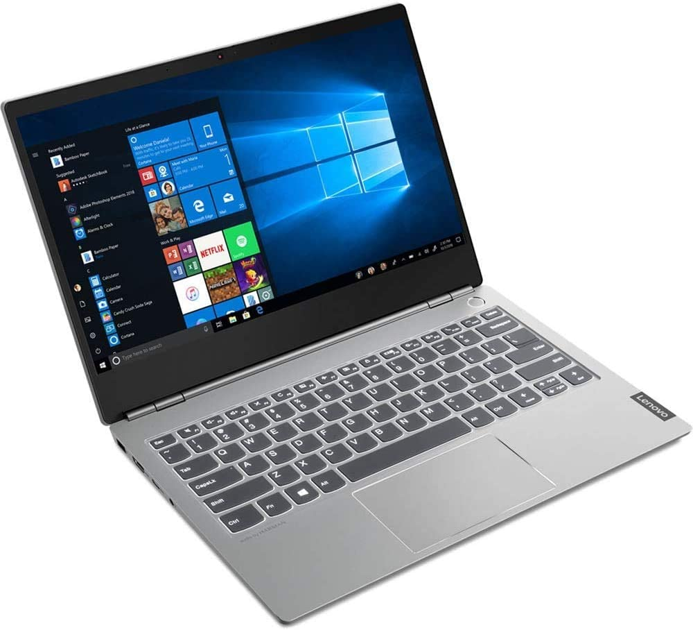 "2019 Newest Lenovo Thinkbook 13S 13.3"" Anti-Glare IPS Full HD FHD (1920x1080) Business Laptop (Intel Quad Core i7-8565U, 8GB DDR4 RAM, 256GB PCIe M.2 SSD) Backlit, Fingerprint, Type-C, Windows 10 Pro"