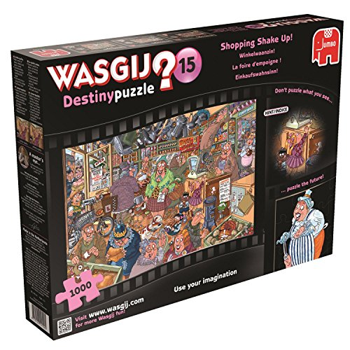 Wasgij Destiny Shopping Shake Up Jigsaw Puzzle