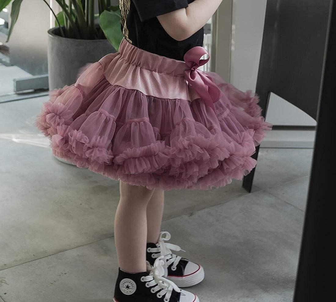 DEBAIJIA Baby Kids Pettiskirt Girls Women Cute Tutu Skirts Dance Carnival Costumes Parent-Child Outfit