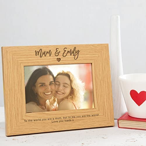 Amazon.com: Personalized Mom Picture Frame / Mommy Picture Frame ...