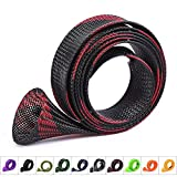 10Pcs/Set Rod Sock Fishing Rod Sleeve Rod Cover Braided Mesh Rod Protector Pole Gloves Fishing Tools for Spinning,Casting,Sea Fishing Rod by Zhenduo