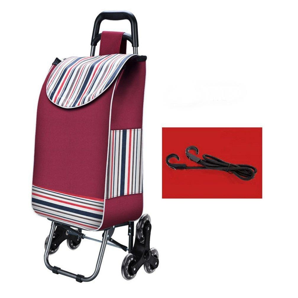 Arong ショッピングカート 重い荷物も楽々移動 防水 軽量 大容量 3輪付き キャリー ショッピングカート B073Y7RY9S 1 1