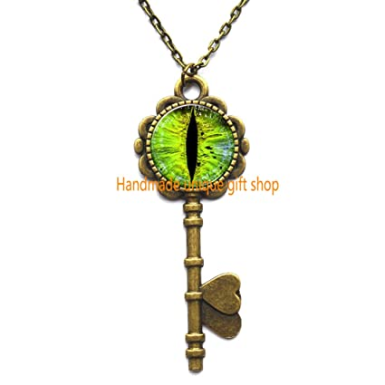 evil eye dragon eye key necklace gifts for him great gifts gift