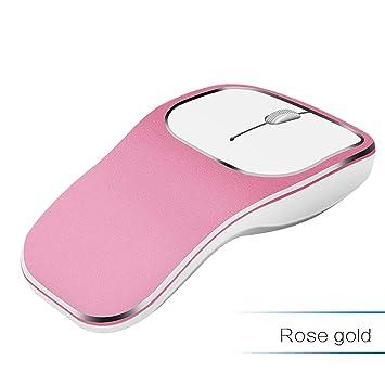 Ratón inalámbrico, LOMAS 2,4 G Delgado silencioso USB Ordenador portátil PC ratón inalámbrico