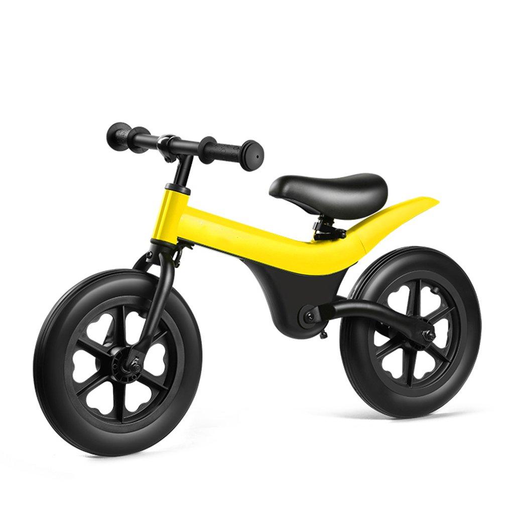 スペシャルオファ スライディングカーウォーカー子供スクーターベビーノーペダル自転車キッズおもちゃダブルホイール2-6歳 Yellow B07FZ5WD2M Yellow Yellow Yellow, スーツケース専門店FKIKAKU:f236aade --- a0267596.xsph.ru