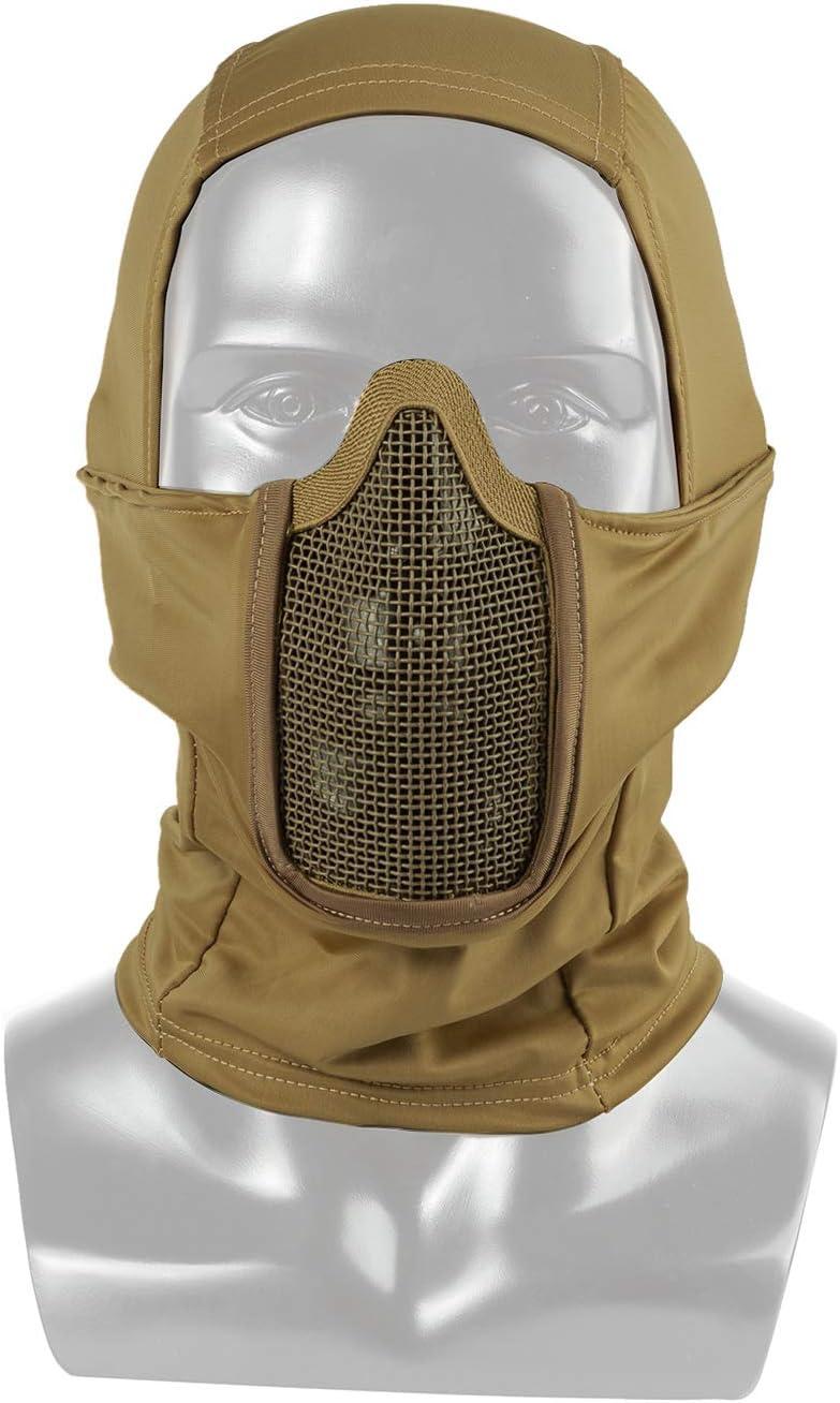 Pasamontañas OneTigris táctico de camuflaje para motocicleta / bicicleta / esquí / caza