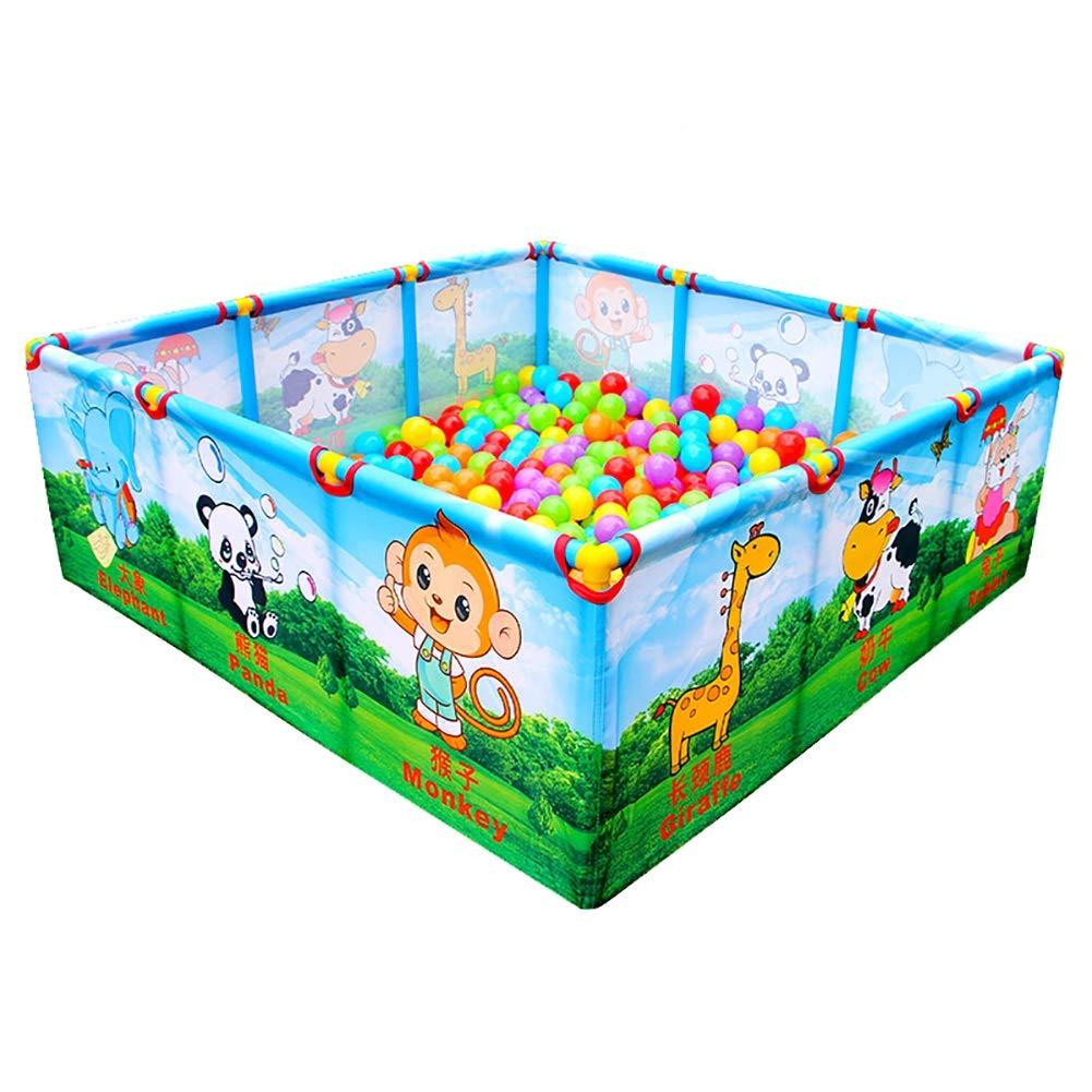 幼稚園ベビークロールマット幼児ガードレールベビープレイペンター子供ベビープレイフェンス子供の屋内安全フェンスおもちゃの家のないボール (色 : Style 1)  Style 1 B07H6VX58M