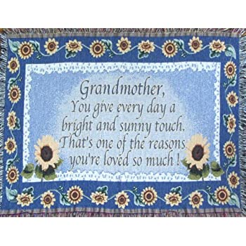 Amazon Grandmother Throw Blanket Grandma Gift Made In USA New Grandmother Throw Blanket