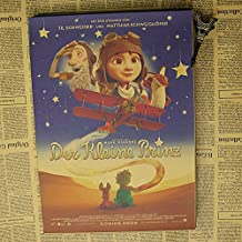 Fangeplus(TM) DIY Removable Le Petit Prince The Little Prince Old Antique Poster Birthday Gift Bar Coffee Shop Room Decal 19.7''x14.2''