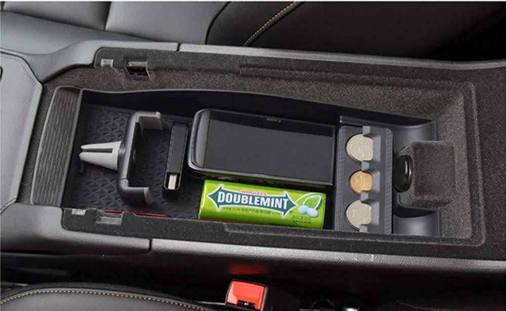 Salusy Car Center Console Organizer Insert Tray Storage Box Holder fit Cadillac XT4 2019