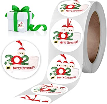 Cards 38mm//1.5inch Seals Stickers for Gifts Xmas Decors Boxes 1000pcs Merry Christmas Labels Stickers GIGIK 1.5 Inch 2 Tag Rolls 4 Designs Round Christmas Santa Claus Tags Envelopes