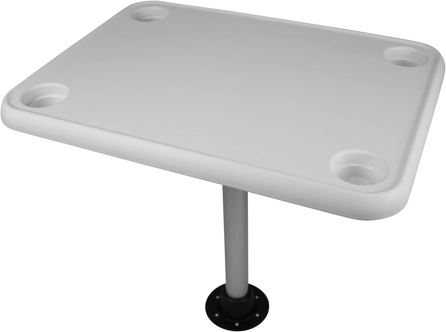 32 Inch x 16 Inch Oval Table Top Kit for Boats Add a Table to any Boat
