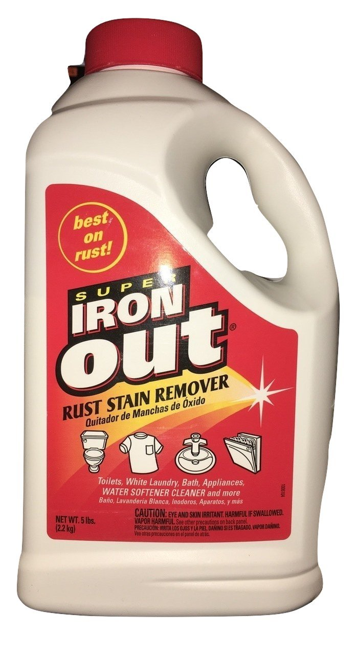Iron Out IO65N Rust Stain Remover Multi Purpose Rust Stain Remover for Toilets, White Laundry, Sinks, Tubs, Tile and More (5 Pounds, 1 Pack) (5 Pounds, 1 Pack) by Summit Brands