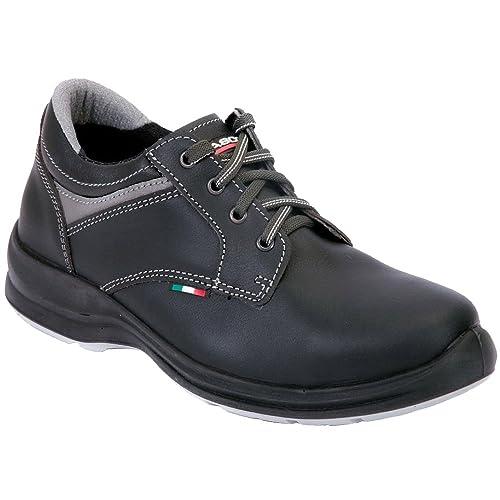 Giasco 93d61?C38?S3?York Zapatos de Seguridad, Negro - Negro, 47