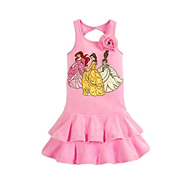 "1fac359f633d1 Image Unavailable. Image not available for. Color: Disney Princess  ""Rosette"" Pink Swimsuit Swim Cover ..."