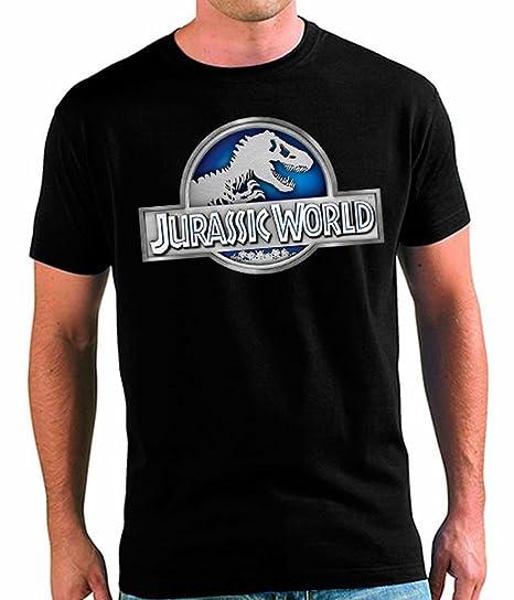 Camiseta Jurassic World UNISEX ADULTOS Logo Classic (todas las tallas)(S)