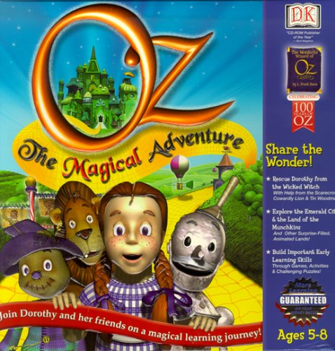 Oz: The Magical Adventure - (Wicked Witch Of West Name)