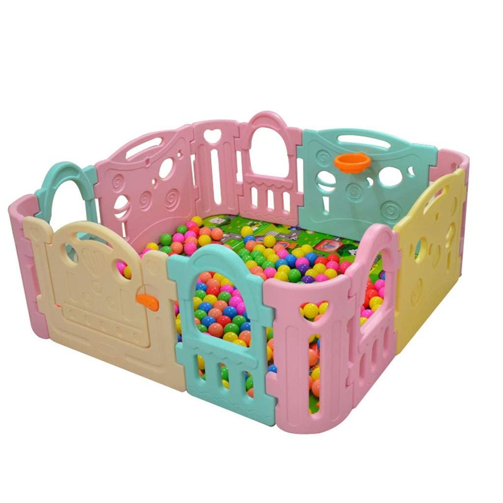 新作商品 ベビーサークルの安全性 赤ん坊および子供のための塀の活動の中心 - - x 多色刷りの演劇場 - パネルが付いている大きい屋内/屋外のプラスチック演劇のペンサイズ62.09 B07QV7FW1Z x 62.09 In B07QV7FW1Z, ワットマン:9dab0c15 --- a0267596.xsph.ru