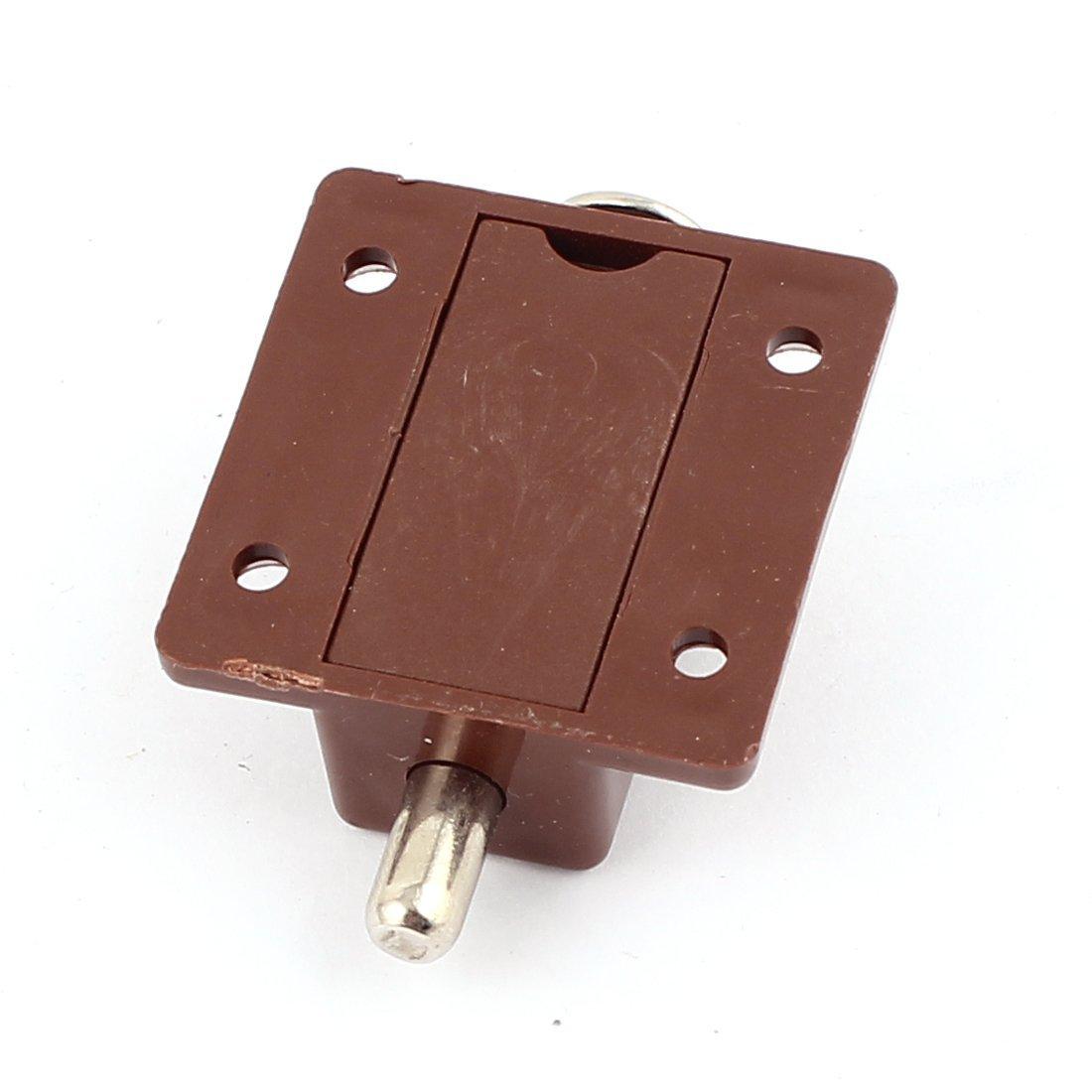 eDealMax gabinete de los muebles Pulse el botón 2pcs automático ...