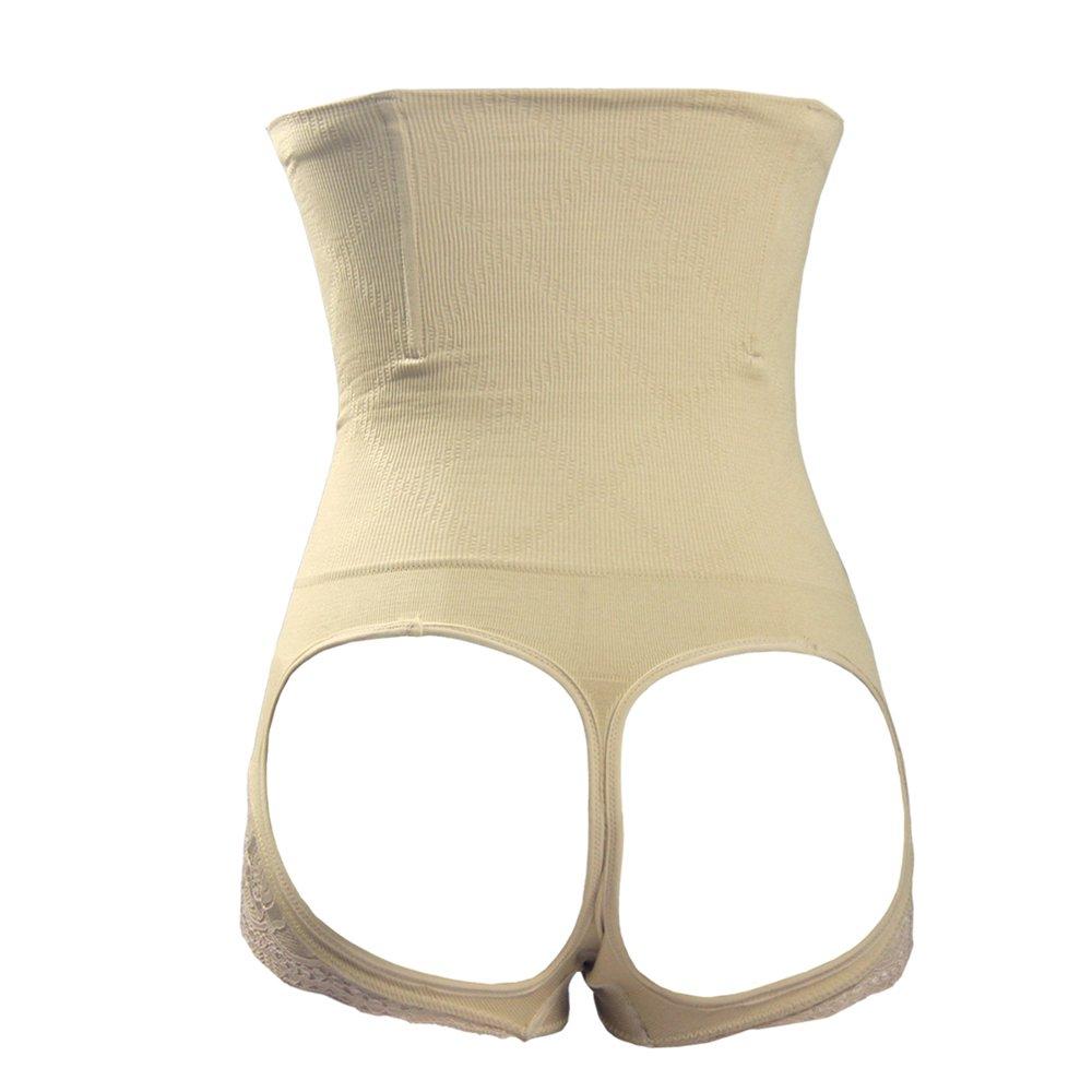 NonEcho Women's Control Panty Shapewear Butt Lifter Waist Cincher Steel Bone BoyShort BOTM001-shaperwear