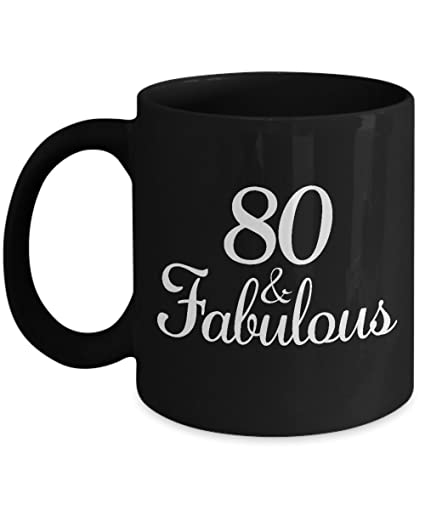 Gifts For 80 Year Old Woman Coffee Mug