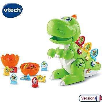 Vtech Codi Mon Robot Dino Rigolo Dinosaure Interactif Ideal 2 5 Ans Vert 518705