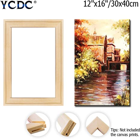 Masterpiece Canvas Stretcher Strips 12 X 24 One Complete Frame
