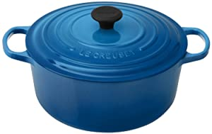 Le Creuset Signature Enameled Cast-Iron Round French Oven - Marseille - 7-1/4-Quart