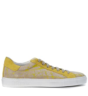 Hide And Jack Sneaker Hide&jack Low Top Solar Gialle Yellow